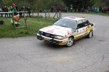 Lavanttal-Rallye 2014 historische Rallye Autos SP 5 Fotos und Video