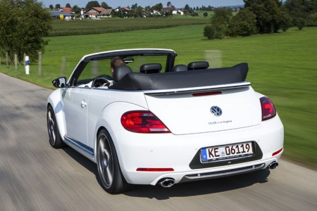 Abt VW Beetle Cabrio Heck offen