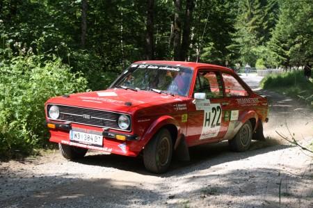Fotos und Videos Schneebergland Rallye 2014 SP 8 historische ÖM
