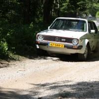Schneebergland Rallye 2014 VW Golf I GTI Kris Rosenberger