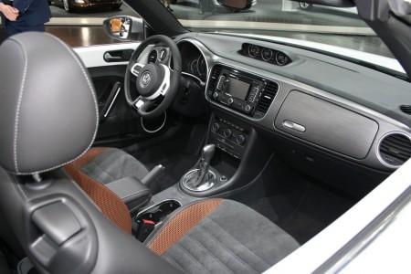 VW Beetle Cabriolet Karmann Innenraum