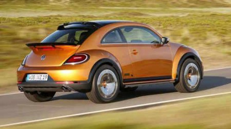 VW Beetle Dune Heck