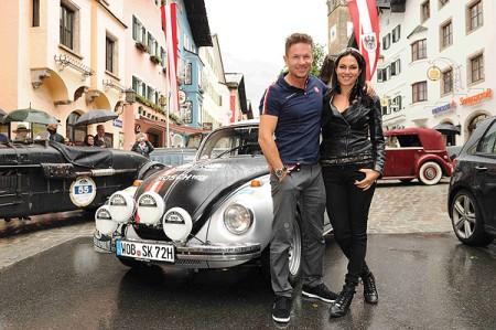 VW begeistert bei der Kitzbüheler Alpenrallye 2014