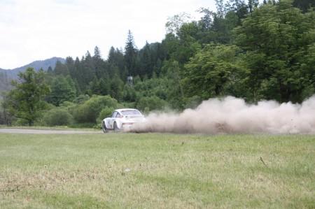 Schneebergland Rallye 2014 Porsche 911 Willi Rabl Staub Wolke SP 12