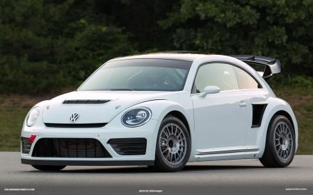 Tanner Foust begeistert vom VW GRC Beetle