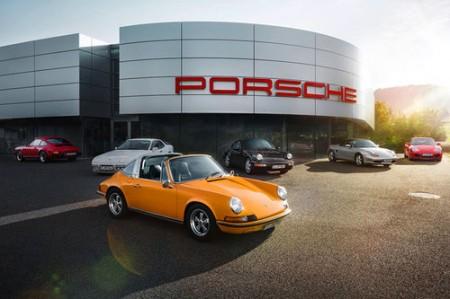 """Porsche mit 100 """"Classic Partner"""""""