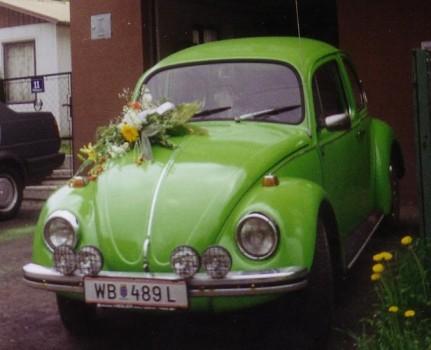 VW Käfer für Hochzeit