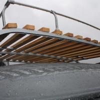 VW Bus Camp Out 2014 Dachgepäckträger Oldstyle Retro Holz