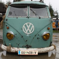 VW Bus Camp Out 2014 T1 Pritsche