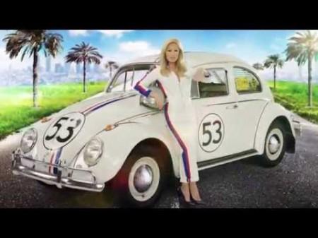 VW Käfer Herbie Helene Fischer TV-Spot