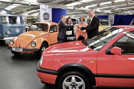 Markus Crott Golf GTI Edition Museumsleiter Eberhard Kittle Volkswagen Classic