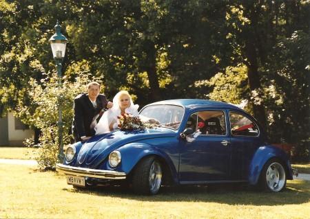 Mein Hochzeitsauto – VW Käfer