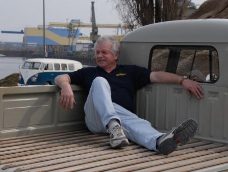 Manfred Klee VW Bus Doka 1960