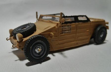 Volkswagen Kübelwagen Hot Rod Modellauto