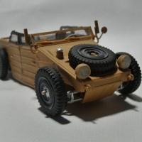 VW Kübelwagen Hot Rod Modell