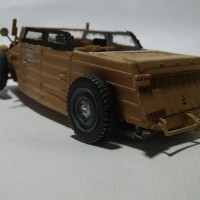 VW Kübelwagen Hot Rod Modellfahrzeug