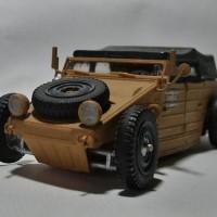 VW Typ82 Kübelwagen Hot Rod Modellbausatz
