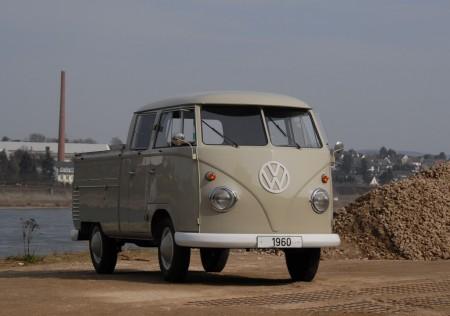 VW Bus Doppelkabine 1960