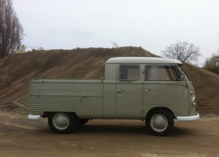 VW Bus Doppelkabine Doka