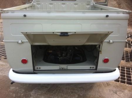 VW Bus Doppelkabine Heck