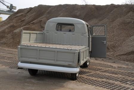 VW Bus Doppelkabine Ladefläche