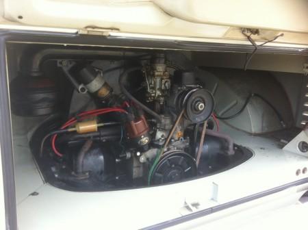 VW Bus Doppelkabine Motor