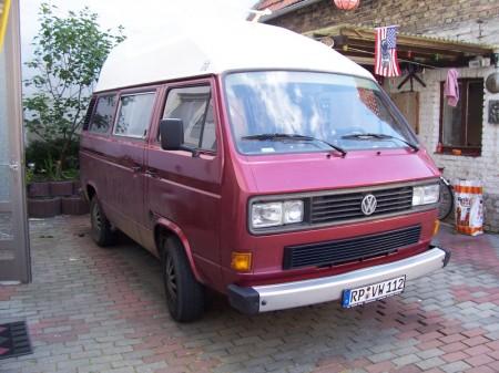 VW Bus T3 original und Modellauto