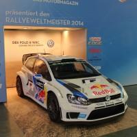 Vienna Autoshow 2015 VW Polo WRC