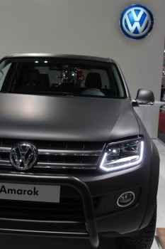 Fotos Vienna Autoshow 2015 VW Amarok Black Edition
