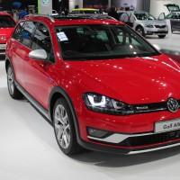 Vienna Autoshow 2015 VW Golf Alltrack