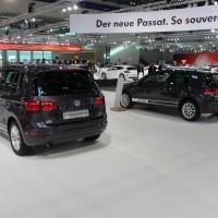 Vienna Autoshow 2015 VW Golf Lounge Modelle