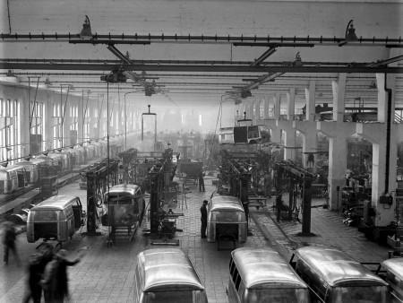 Volkswagen Transporter-Fertigung 1950