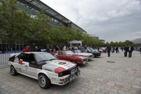 Donau Classic 2015 Quattro und weitere 4 Ringe zu Gast auf dem Audi Forum