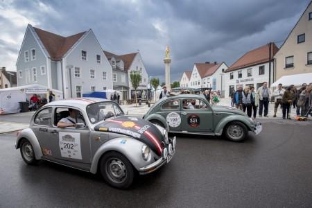 Donau Classic 2015 Salzburg- und Mille Miglia-Käfer