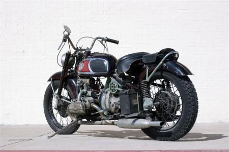 Motorrad mit VW Käfer Motor