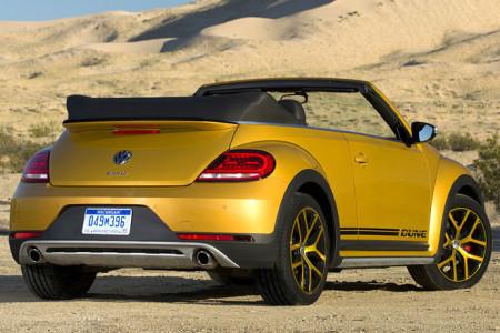 VW Beetle Dune Cabrio Heck