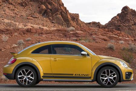 VW Beetle Dune Seitenansicht