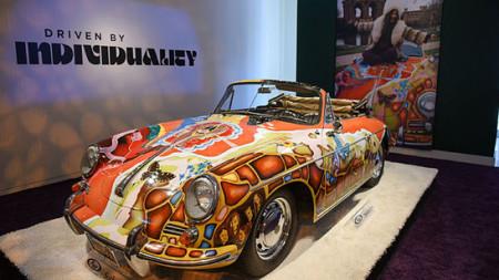 Janis Joplins Porsche mit Rekordpreis