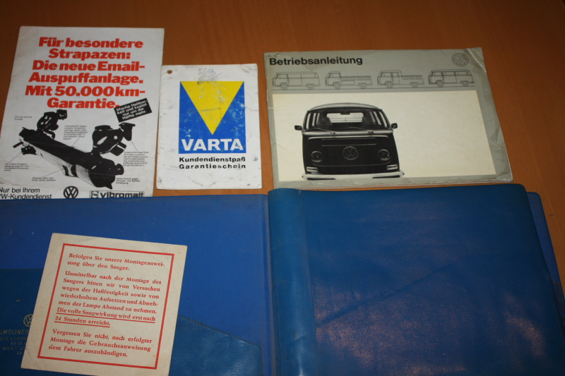 Betriebsanleitungen VW Bus Transporter