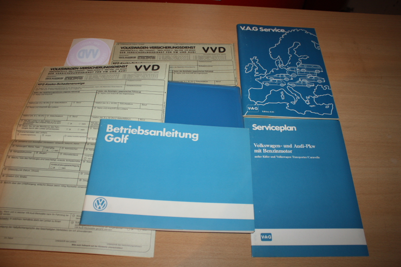 VW Golf 2 1985 Anleitung
