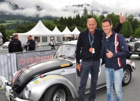 Porsche Salzburg VW Käfer Striezel Stuck Sebastian Ogier