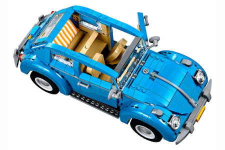 VW Käfer Lego Sufer Look 60er Jahre neues Modell Faltdach