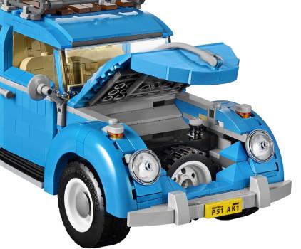 VW Käfer Lego Sufer Look 60er Jahre neues Modell Kofferraum