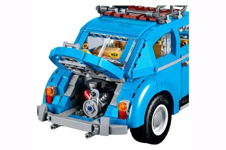 VW Käfer Lego Sufer Look 60er Jahre neues Modell Motor