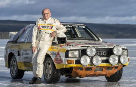 Stig Blomqvist Audi quattro A1 Gruppe B
