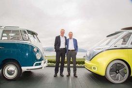 Die Volkswagen Studie I.D. BUZZ1 geht in Serie