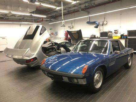Werkstatt Porsche Museum Porsche 914 6 1969